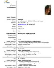 resume for college outline format fresh essays exle of cv europass