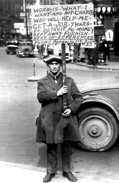 depression vintage detroit detroit news
