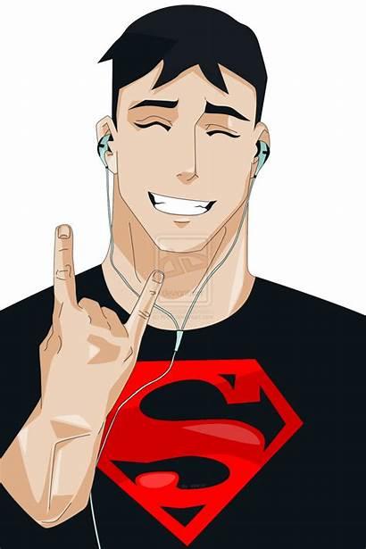 Justice Young Funny Superboy Super Rocker Jovem