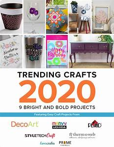 Trending, Crafts, 2020, 9, Bright, And, Bold, Projects
