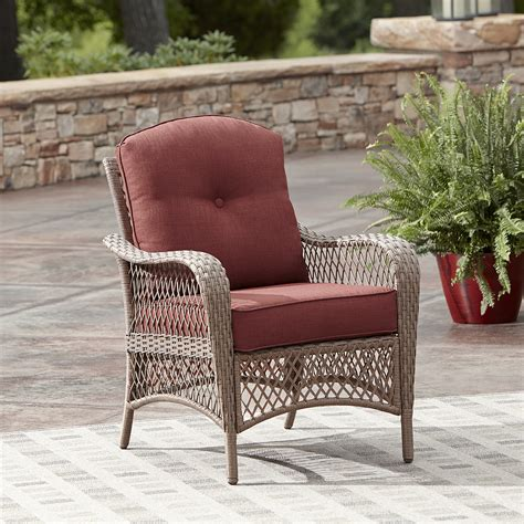 grand harbor jamestown chat chair in wine kmart