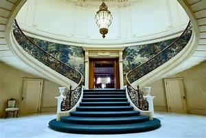 Grand staircase Elstowe Manor, Elkins Park, Pennsylvania ...