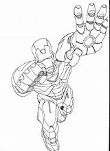 Iron Coloring Man Pages Print Printable sketch template