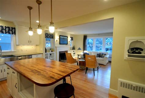 Cape Cod Style Homes Interior - raising the roof on a 1940s cape cod hooked on houses