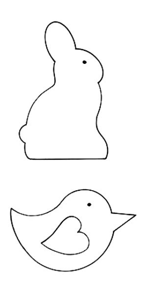 Bunny Template For Sewing by How To Sew Easter Bunny And Easter Decorations For