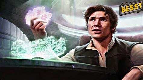 How Han Solo Won The Millenium Falcon From Lando (canon