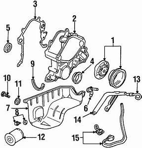 Mercury Cougar Engine Oil Pan Gasket  3 8 Liter  4 2 Liter