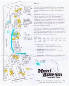 Map of the Aston at Maui Banyan
