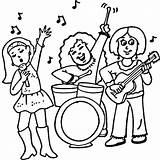 Rock Coloring Band Concerto Colorir Banda Feminina Uma Desenhos Rampelys Colorare Disegni Kolorowanki Desenho Bacio Concert Roll Muzyczne Kolorowanka Blogtour sketch template