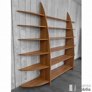 étagère Bibliothèque Bois : etagere bois bibliotheque ~ Teatrodelosmanantiales.com Idées de Décoration