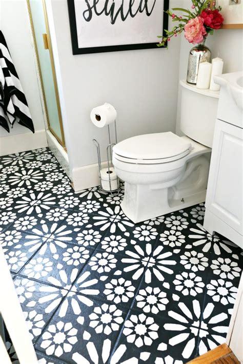 modern ranch reno  bathroom flooring  cheap