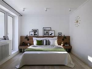 Intérieur appartement moderne d'inspiration scandinave à