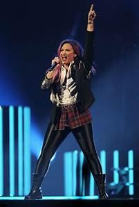 Demi Lovato - Neon Lights Concert Tour at the Honda Center ...