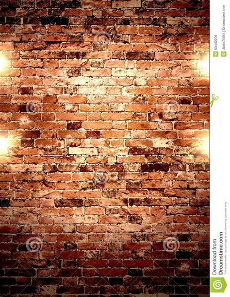 brown wall with lights image of company