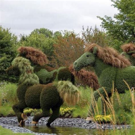 most artificial tree canada these horses are truly green equine ink
