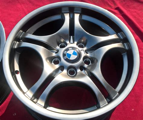 bmw styling felgen bmw styling 68 e46 chrome shadow m paket felgen alufelgen