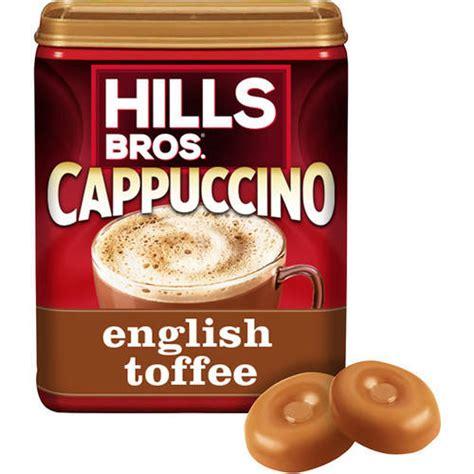 Hills Bros: English Toffee Cappuccino Drink Mix, 16 oz   Walmart.com