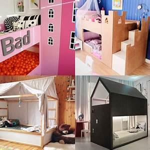 Lit Pour Enfant Ikea : les super transformations de lit pour enfant kura d 39 ikea ~ Teatrodelosmanantiales.com Idées de Décoration