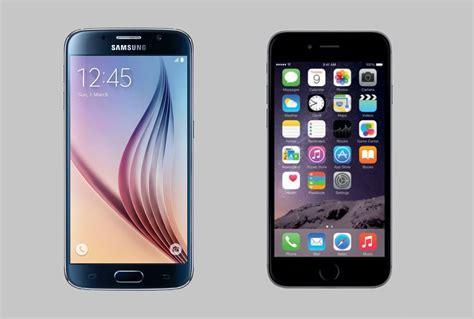 iphone 6 vs samsung galaxy s6 quot iphone 6 mı samsung galaxy s6 mı quot kavgası kanlı bitti