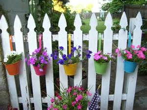 Hanging Fence Flower Planters
