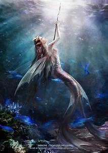 Fantasy Mermaid Warrior