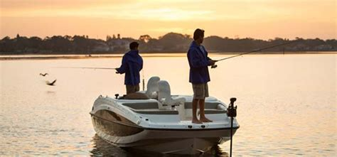 Deck Boat Fishing Package by Bayliner Element Xl Add A Fishing Package Get Hooked Up