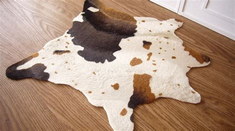 cow skin rug style in scale cow hide rugs 1 6 scale