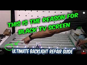LG TV Problem ! Monitor backlight strip down and fix | Doovi