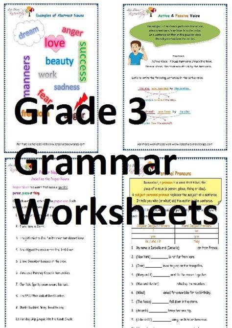 grade  grammar worksheets lets share knowledge