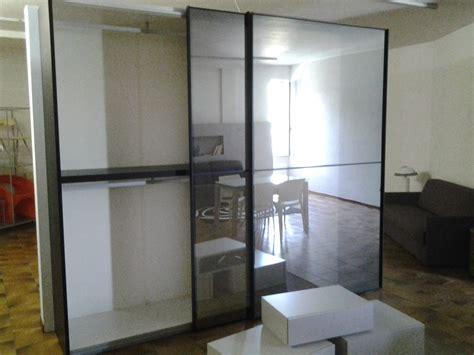 armadio in vetro armadio scorrevole presotto anta vetro fume e profili