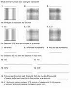 Worksheet Area Model Decimal Multiplication Worksheet Worksheets Decimal To Fraction Worksheet Problems Solutions Decimal Grid Worksheets Furthermore Blank Tenths And Hundredths Grids Decimal Squares Sample Worksheet MultiplicationAbout