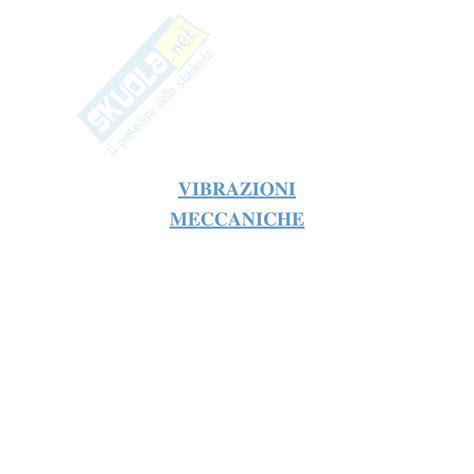 Vibrazioni Meccaniche Dispense by Equazioni Problema Elastico Dispensa Di Costruzioni