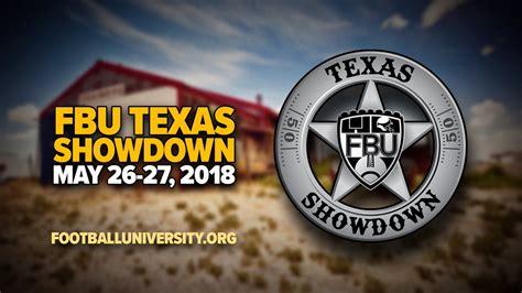 Football University Texas Showdown