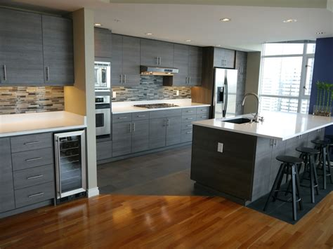 new cabinets or reface seattle condo modern kitchen reface