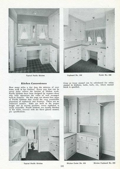 images  early  kitchens  pinterest craftsman style kitchen ideas