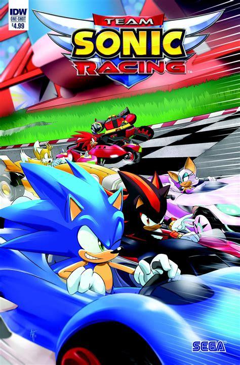 team sonic racing comic book announced  san diego comic