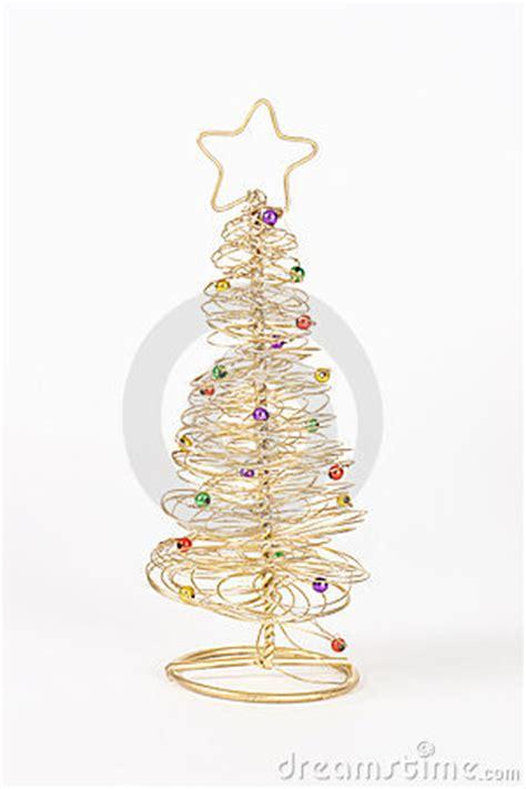 draht weihnachtsbaum lizenzfreie stockfotos bild 392318
