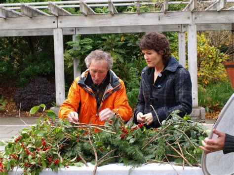 gardening with ciscoe ciscoe helps promote gifts greens galore the arboretum