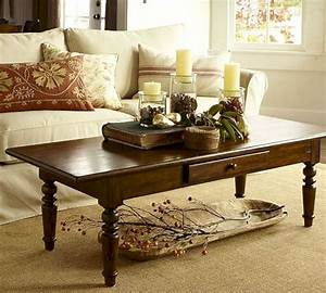 45 modern and simple coffee table models in your living for Coffee table decoration ideas