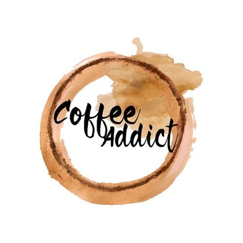 Truly speaking, coffee shop logo designs are often considered as a creative idea of a coffee bar owner. Coffee Stain Watercolor Logo Design, Watercolour Logo, Coffee Logo, Brown Watercolor, Coffee ...