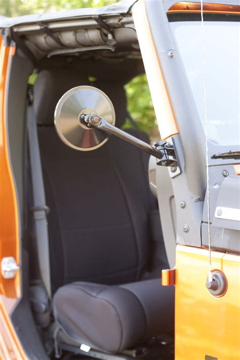 rugged ridge quick release mirror kit    jeep