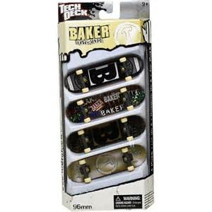 tech deck fingerboard 4 pack baker walmart com
