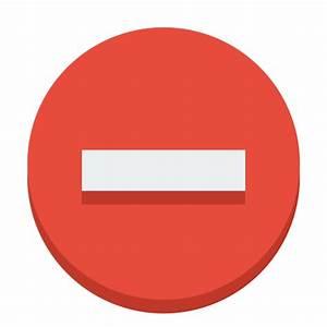 Sign delete Icon | Small & Flat Iconset | paomedia