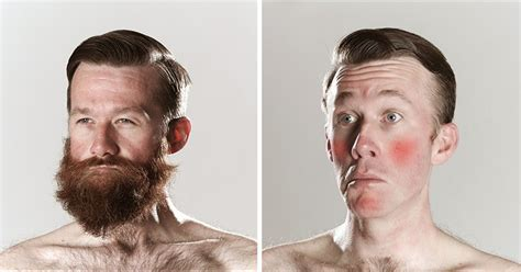 beard shaving hilarious before and after looks for movember