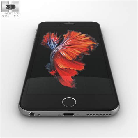 iphone 6s plus models apple iphone 6s plus space gray 3d model hum3d