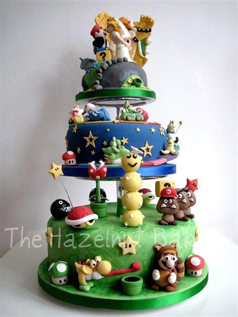 Spectacular Super Mario Wedding Cake Pics Global Geek News
