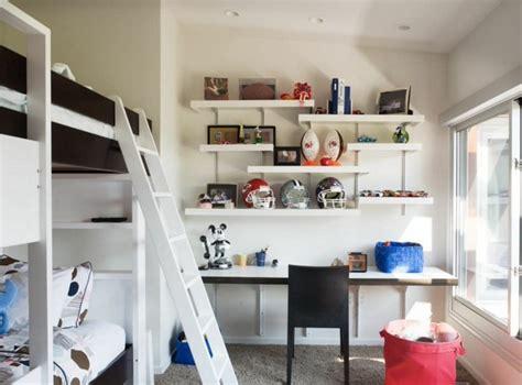 amenagement chambre pour 2 ado aménager un coin bureau dans la chambre ado 30 idées