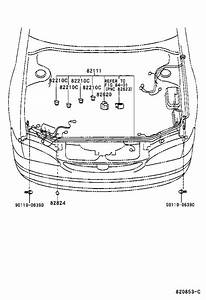 Toyota Corolla Wire  Engine  Electrical  Wiring