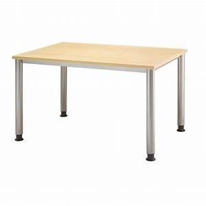 Schreibtisch 120 Cm : hammerbacher vierfu schreibtisch h henverstellbar breite 120 cm ~ Orissabook.com Haus und Dekorationen