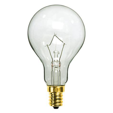 satco s4162 60w a15 ceiling fan bulb